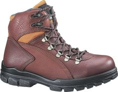 Women's Wolverine DuraShocks 6' Waterproof Steel Toe EH Work Boots Brown >>> Find out more about the great product at the image link.