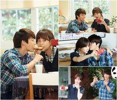 Panda and the Hedgehog ♥ Starring: Lee Donghae as Go Seung-ji ♥ Yoon Seung-ah as Pan Da-yang