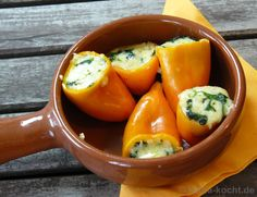 How about some veggie power inspiration from #Germany.... Spinach Stuffed Peppers!! Enjoy!! - Olive Oils from Spain