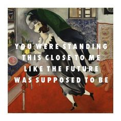 Marc Chagall, The Birthday (1915) / Vampire Weekend, Taxi Cab (2010)