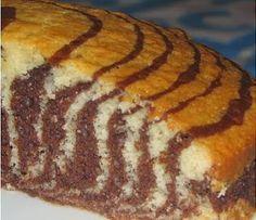 Facile torta zebra fatta in casa – Postres – - Torte My Recipes, Cake Recipes, Healthy Recipes, Bread Machine Recipes, Homemade Cakes, Banana Bread, Cupcake Cakes, Catering, Food And Drink