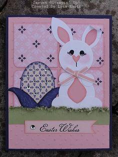 Lisa Martz - Easter punch art
