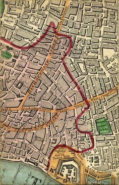 Bishopsgate and Spitlefields 1830 London Map, British Isles, Will Smith, Family History, Image