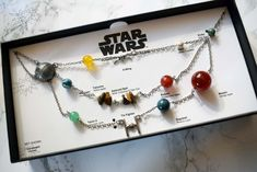 Star Wars Galactic Necklace from ThinkGeek