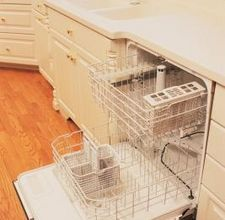 Cleaning the Dishwasher Heating Element!  Mine is covered in limescale/calcium build-up because of hard water!!
