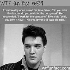 Elvis Presley - WTF fun fact