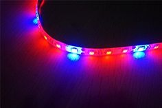 Amazon.com : [Pack of 4] Bonlux 0.6m/strip 5W Flexible LED Grow Strip Light Kit, DC12V Red Blue 3:1 Waterproof Plant Growing Bar Light + 2A Power Adapter + DC Extend Connector for Garden Greenhouse Flowering : Patio, Lawn & Garden