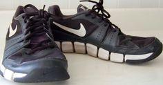 Womens NIKE TRAINING Sneakers RUNNING Black White 7.5 VERY RARE Athletic SHOES #Nike #RunningCrossTraining