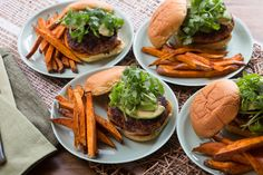 Mexican Spiced Turkey Burgers
