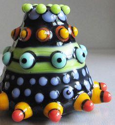 Zuma PodHandmade Lampwork Glass Bead by beadygirlbeads on Etsy, $27.00