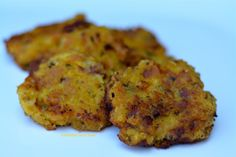 Plantain Bacon Fritters