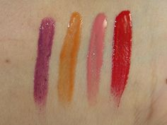 Hard Candy Fierce Effects Daring Lipgloss Swatches