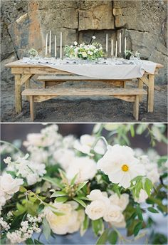 rustic tablescape ideas | nature inspired wedding | floral centerpiece | bend oregon | #weddingchicks