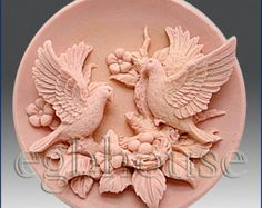 Silicone Soap Mold – Birds with Nest Candle Maker, Candle Molds, Porcelain Clay, Cold Porcelain, Soap Molds, Silicone Molds, Soap Carving, Plaster Molds, Clay Art