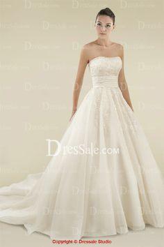 Princess Wedding Dress with Pompous Appliqués- Love it