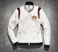 Women's Embroidered Soft Shell Jacket | Soft Shell | Official Harley-Davidson Online Store