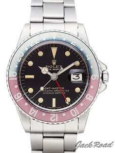 ROLEX GMT master ref.1675 1965y gilt dial gold letter GMT small hand cal. 1560 1,728,000----2016.5.8.