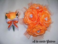 Corsage and boutonnière! His & Hers!