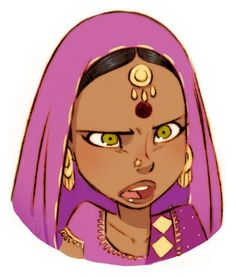 indian character design - Google Search