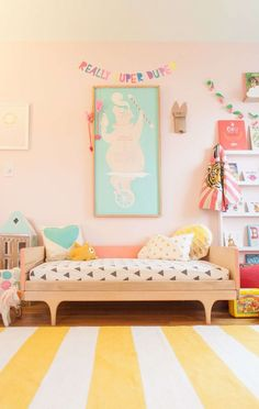 35 pink girly bedroom color schemes that will make habitaci³n infantil pintada de lila kalon studios caravan divan 55 kids room design ideas cool kids. Girls Room Design, Nursery Design, Pink Bedrooms, Girls Bedroom, Small Bedrooms, Bedroom Ideas, Basement Bedrooms, Bedroom Designs, Nursery Ideas