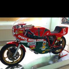 Mike Hailwood's race bike at the Ducati museum.