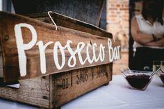Prosecco Bar Wedding Sign