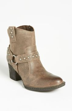 Need these in my life: Børn 'Slater' Boot (Online Only) available at Fall Fashion Boots, Fashion Shoes, Bootie Boots, Shoe Boots, Ankle Boots, Bae, Studded Boots, Nordstrom Anniversary Sale, Types Of Shoes