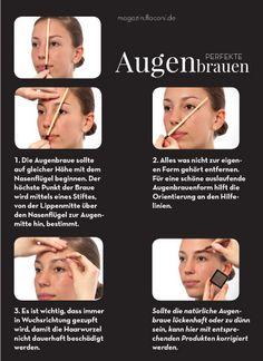 Augenbrauen zupfen - Die Ausdrucksstärke um die Augen