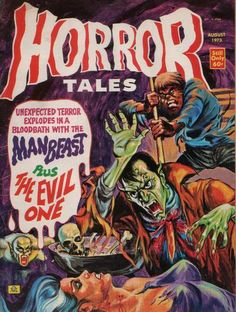 Cover for Horror Tales (Eerie Publications, 1969 series) #v5#4