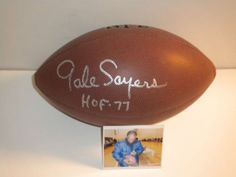 Gale Sayers Chicago Bears Footballs