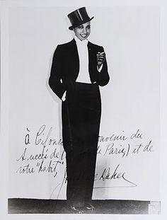 Mme Baker's tailor Cifonelli