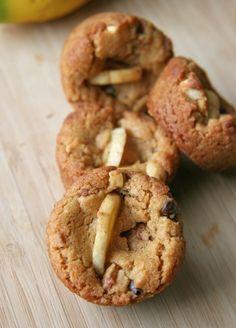 Flourless Chunky Chip Cookies - Gluten Free / Vegan