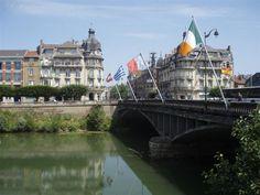 pont des deux villes de CHARLEVILLE-MEZIERES