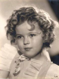 Shirley Temple gotta love her in the many movies that she's been I use to watch them when I was little :)