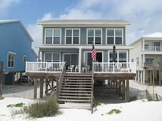 Gulf Shores Beach Front House, Sleeps 6Vacation Rental in Gulf Shores from @homeaway! #vacation #rental #travel #homeaway