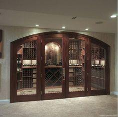 Gallagher Custom Wine Cellar - Home and Garden Design Idea's