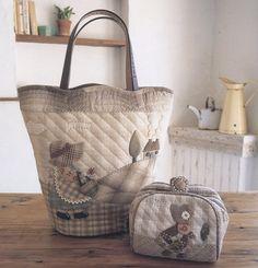 Quilt bag So pretty! Hugs, Ulla's Quilt World