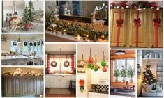 21 Insanely Genius Ideas To Decorate The Kitchen In Christmas Spirit For Free