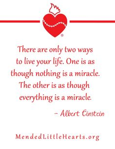 Everything is a Miracle <3