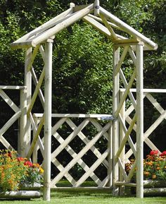 ...  Gate is a substantial garden arch with a rustic charm in that will suit any garden setting and would make the perfect garden entrance. Description from internetgardener.co.uk. I searched for this on bing.com/images