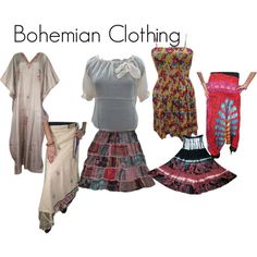 """Bohmeian Clothing"" by mogulinteriordesigns on Polyvore"