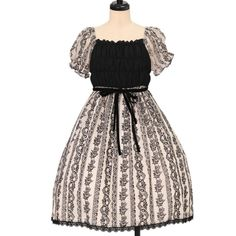 Worldwide shipping available ♪ Moi-meme-Moitie ☆ ·. . · ° ☆ stripe race Flocky Dress  https://www.wunderwelt.jp/products/w-17586  IOS application ☆ Alice Holic ☆ release Japanese: https://aliceholic.com/ English: http://en.aliceholic.com/