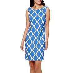 Alyx® Sleeveless Diamond Sheath Dress - JCPenney
