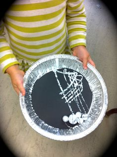 Spooky Marble Spider Webs - TinkerLab --- Creative Play for Curious Kids