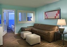 When the day winds down, curl up with your loved one at Bluegreen Vacations Daytona Seabreeze, an Ascend Resort in Daytona Beach, FL.