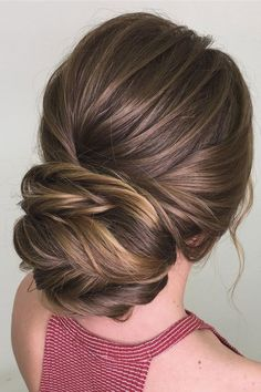 pretty braided updo hairstyle ideas | Bridal updo hairstyles | chignon wedding hairstyles | fabmood.com #weddinghair #harido updo hairstyle #promhair #besthairstyle #hairstyle #hairstyleideas #hairinspiration #weddinghairstyleideas #hairideas