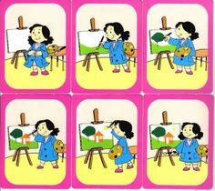 Okulöncesi veya Özel Gereksinimli Çocuklara sıralama kartları - platoni