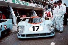 Auto engineering , driven by Siffert / Bell , DNF>split crankcase . Porsche 911 Rsr, Porsche Motorsport, Porsche Cars, Porsche Classic, Sports Car Racing, Sport Cars, Auto Racing, Road Racing, Derek Bell