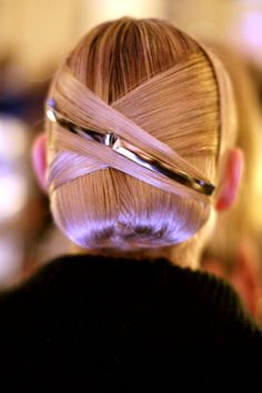 Hair from Jason Wu's fall 2013 runway show remind us of intergalactic retro style...maybe something in the future for Fall??