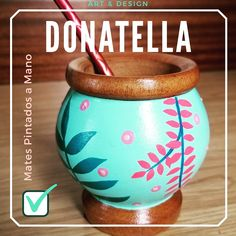 Painted Plant Pots, Painted Flower Pots, Pottery Painting Designs, Paint Designs, Wooden Spoon Crafts, Posca, Baby Gifts, Crafts For Kids, Projects To Try